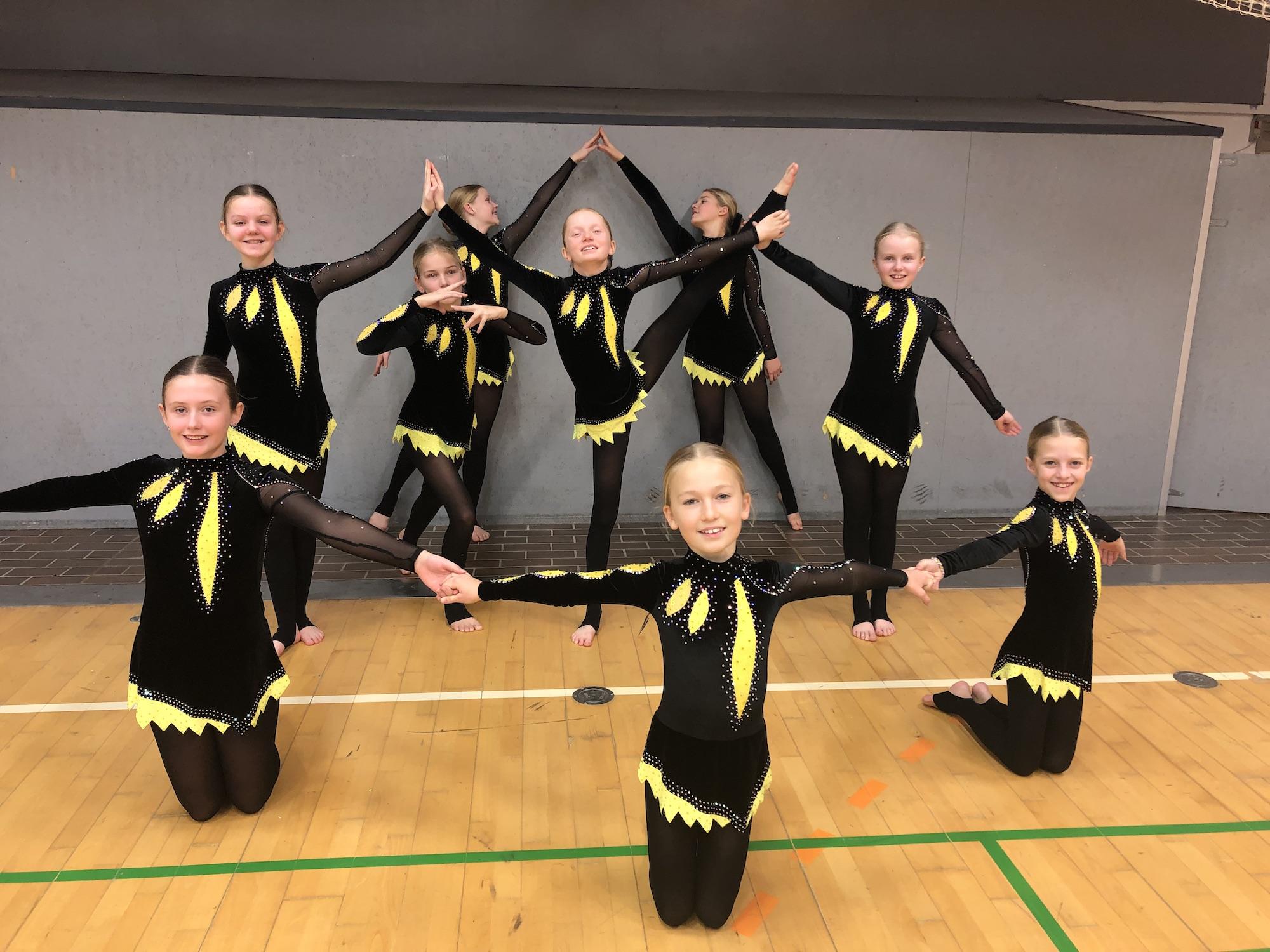 Rhythmic Gymnastics Leotards for Sofie's team from Denmark