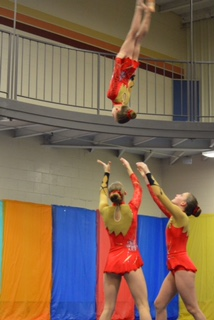 Rhythmic Gymnastics Leotard by Modlen Studio in USA