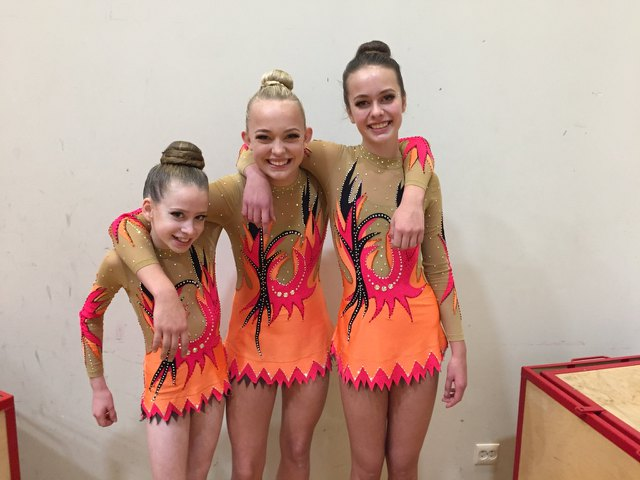 Acrobatic Gymnastics Leotard in Norway from Modlen