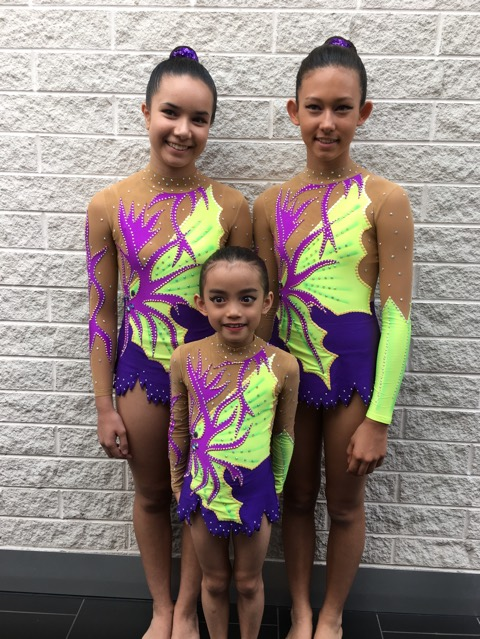 Acrobatic gymnastics competition leotards in Australia