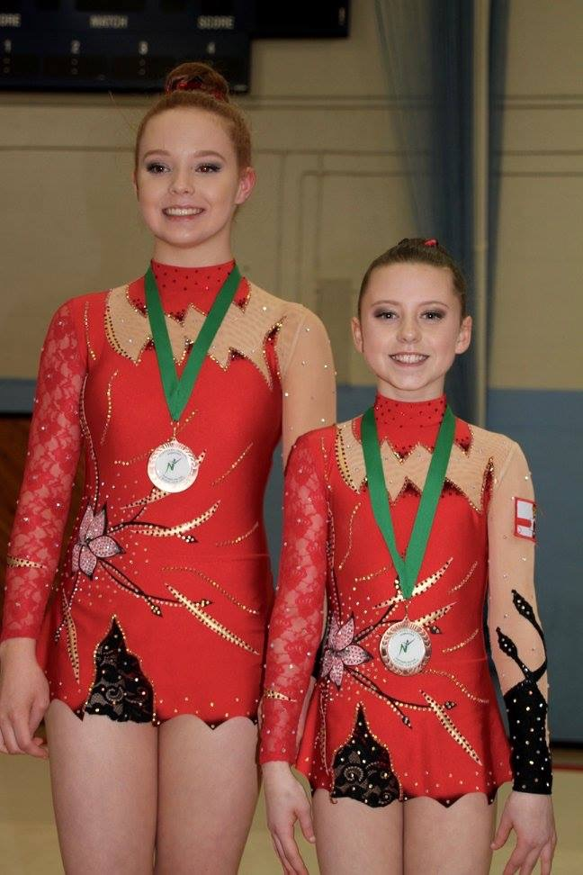 Rhythmic Gymnastics Leotard by Modlen Studio in England