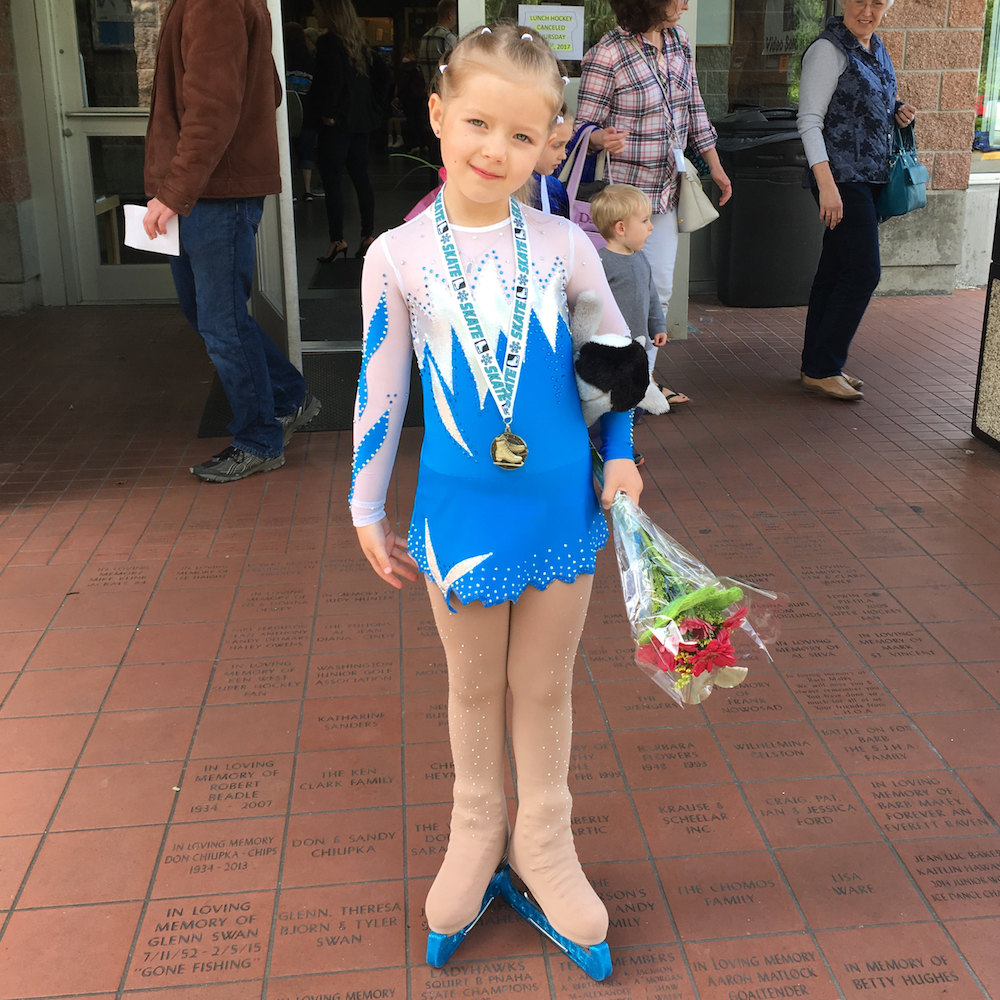 Ice Figure Skating Costume for Burton from USA
