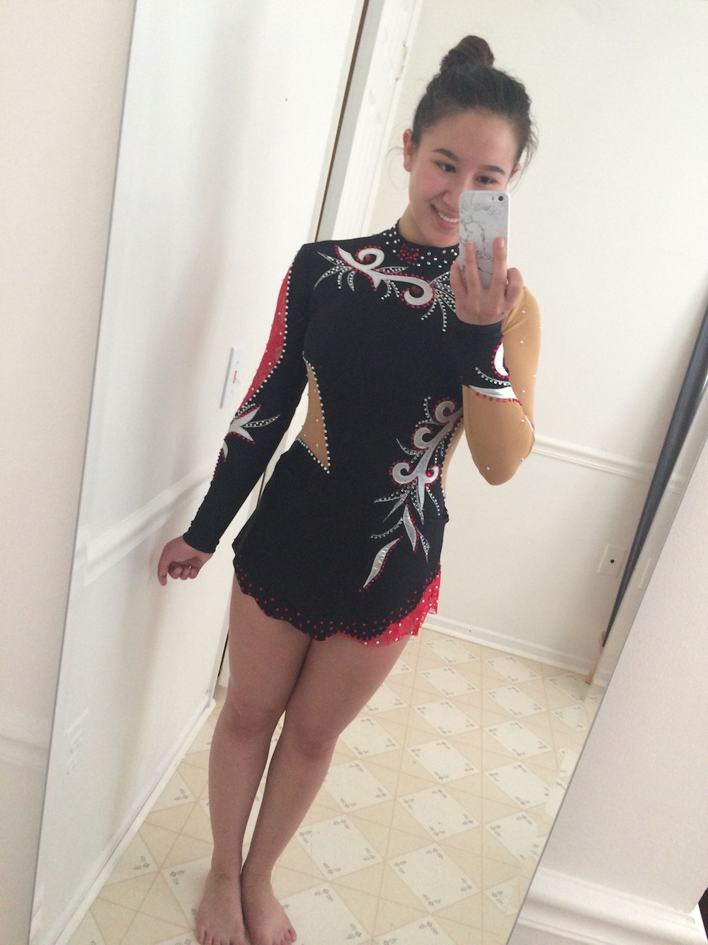 Rhythmic Gymnastics Leotard by Modlen Studio in USA