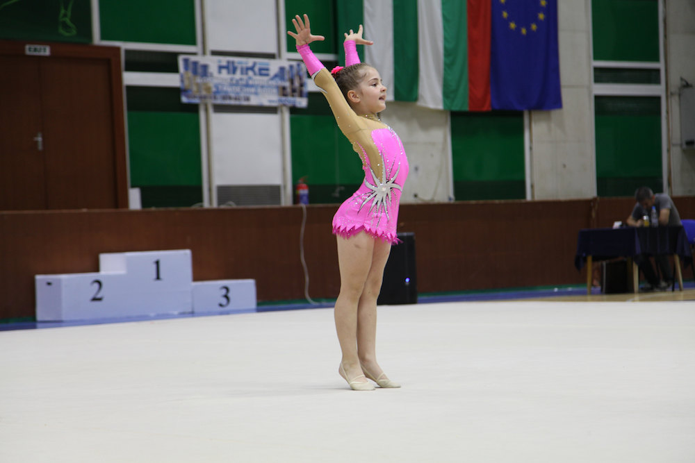 Rhythmic Gymnastics Leotard for Virginie from USA