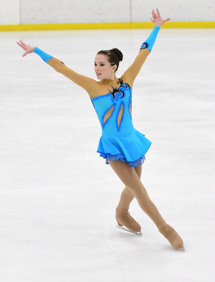 Ice Figure Skating Dress for Ally from USA