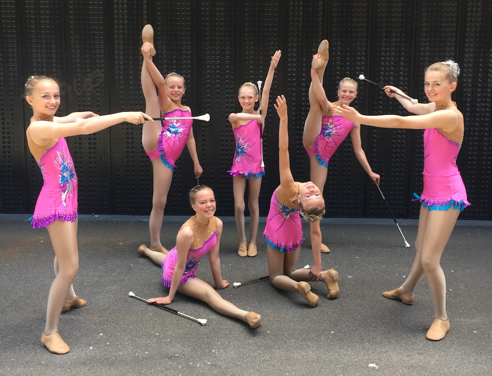 Acrobatic Gymnastics Competition Costumes