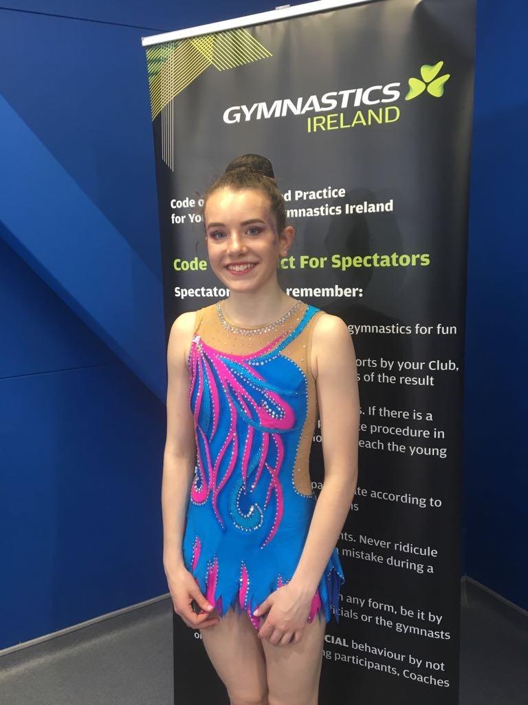 Rhythmic Gymnastics Leotard for Sinead from Ireland