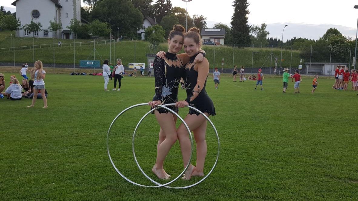 Rhythmic Gymnastics Competition Duo Leotards