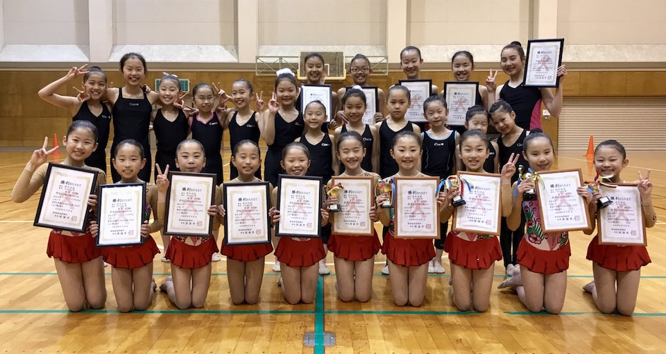 Rhythmic Gymnastics Competition Leotards for Katrina's team from Japan