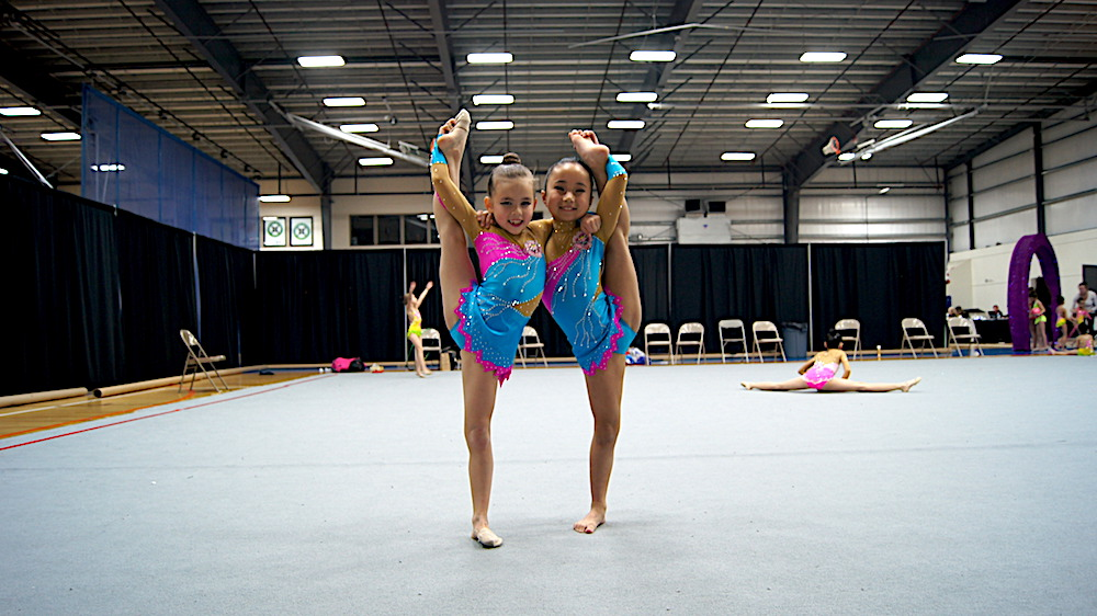 Rhythmic Gymnastics Leotards for team from USA