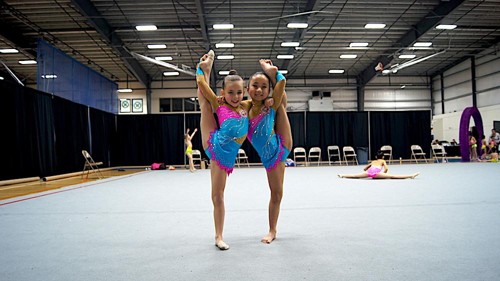Rhythmic Gymnastics Leotards for team from USA